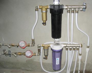 Выбор магистрального фильтра для очистки воды