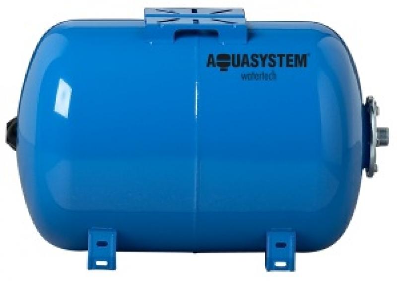 gorizontal'nyj gidroakkumulyator aquasystem ob`emom 200 litrov