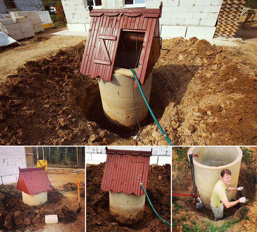 Защита колодца от песка
