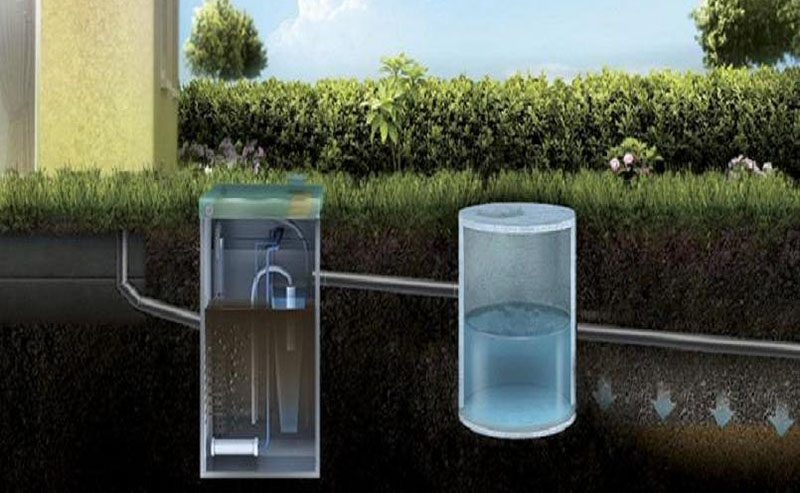 Очищение воды на участке дачника