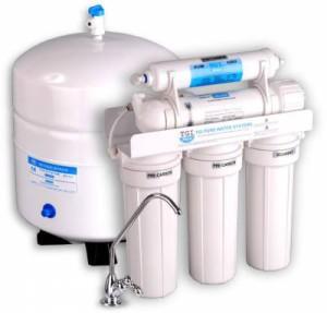 Обессоливание воды фильтром обратного осмоса